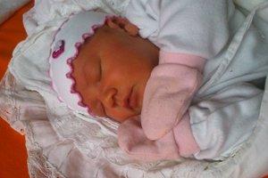 Melissa Mia Vaneková (3330 g, 49 cm) sa narodila 4. decembra Kataríne a Pavlovi z Trenčína. Doma už majú syna Maxima Christophera.