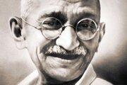 Mahátmá Gándhí.