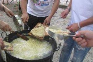 Halušky Fest si naostro vyskúšali tento týždeň v kúpeľoch v Sliači