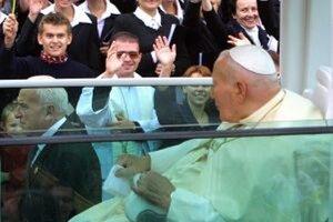 Ján Pavol II. navštívil Banskú Bystricu v septembri 2009.