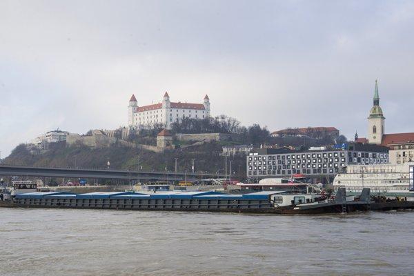 Panoráma Bratislavy.