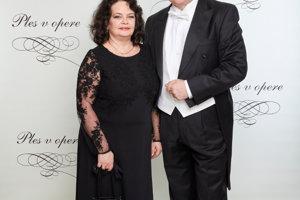 Miroslav Dvorský s manželkou
