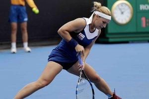 Dominika Cibulková končí na Australian Open v prvom kole.
