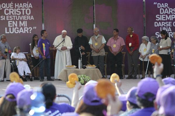Pápež na návšteve v Čile.