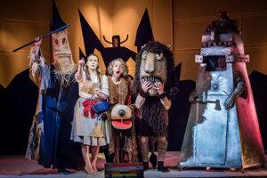 Tento týždeň si v Starom divadle môžete pozrieť inscenáciu Čarodejník z krajiny Oz.