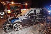 Dopravná nehoda stála šoféra život.
