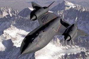 Lockheed SR-71 Blackbird.