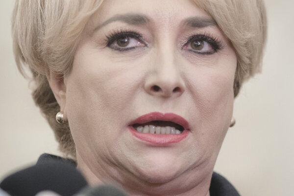 Viorica Dancilová sa môže stať rumunskou premiérkou.
