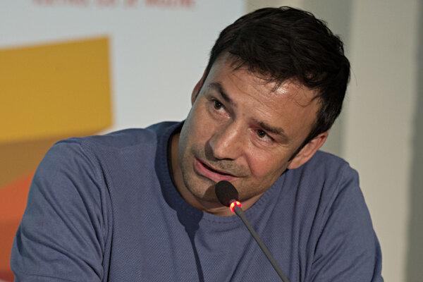 Samuel Slovák, tréner slovenskej reprezentácie vo futbale do 17 rokov.