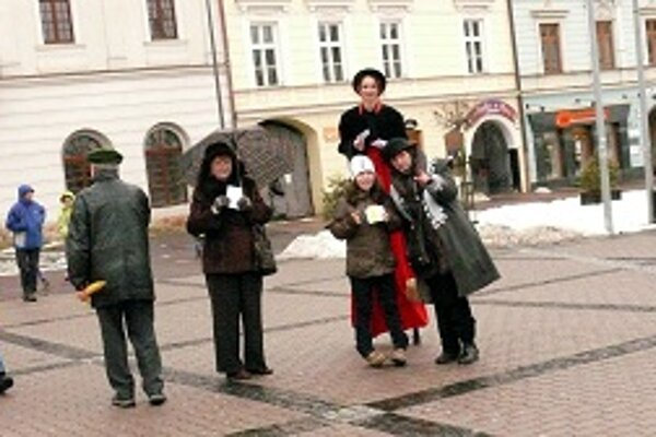 Herci na chodúloch spestrili podujatie.
