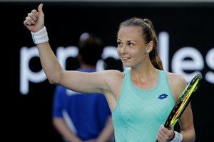 Magdaléna Rybáriková postúpila do osemfinále Australian Open 2018.