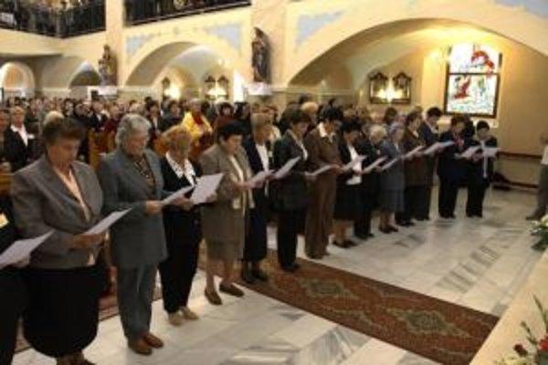 V Čiernom Balogu sa zišlo viac ako 300 ctiteľov Božieho milosrdenstva.