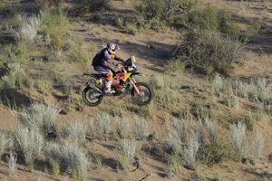Piatkovú 13. etapu Rely Dakar vyhral Austrálčan Toby Price.