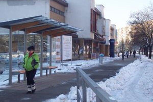 Na ulici ČSA sú dve nové zastávky.