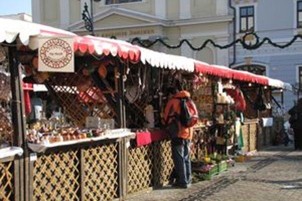 Vianočný darček môžete nájsť aj na trhoch.