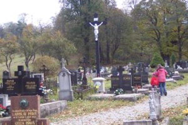 Cintorín v Nemeckej.