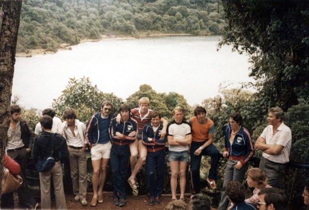 1982: Spoznávanie prírodných krás Strednej Ameriky.
