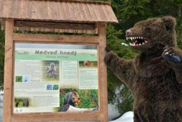 Na medveďov upozornia tabule