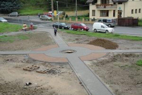 Centrálna časť obce sa mení