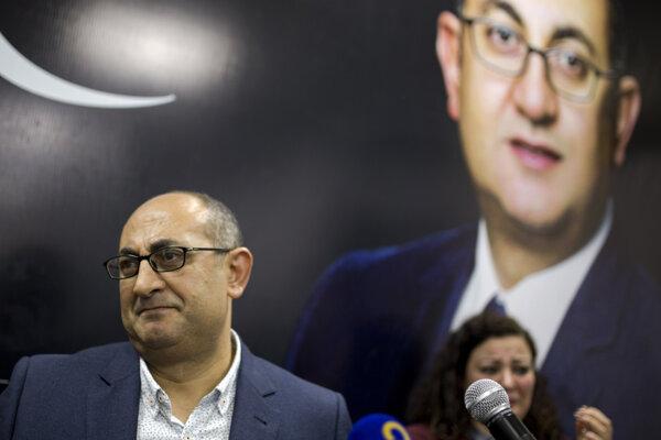 Egyptský prominentný právnik a ľudskoprávny aktivista Chálid Alí.