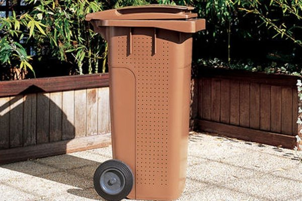 Zberná nádoba na bioodpad.