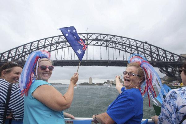 Austrálčania si pripomenuli štátny sviatok svojej krajiny.