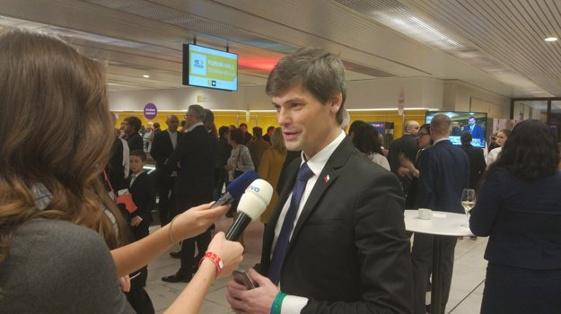 Marek Hilšer v štábe Jiřího Drahoša.