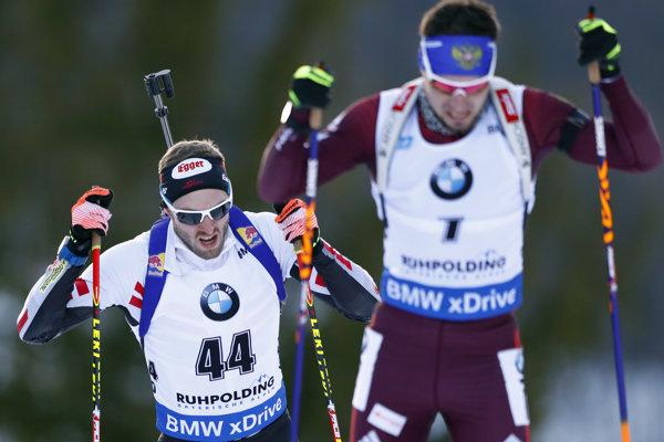 Rus  Alexander Loginov (vpravo).