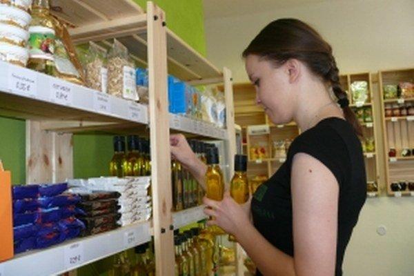 V predajni dostanete iba slovenskú produkciu.