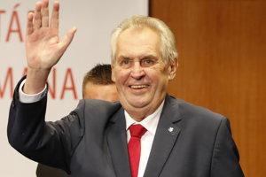 Staronový český prezident Miloš Zeman.