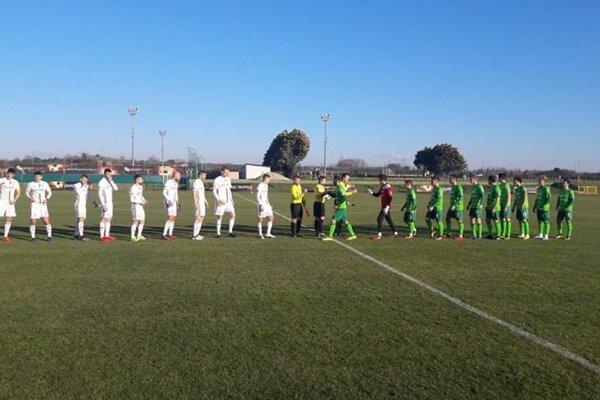 Pred zápasom. FOTO: MFK RUŽOMBEROK