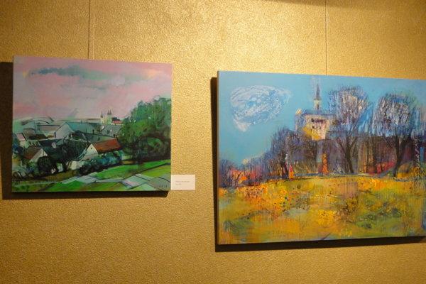 V týchto dňoch si môžete pozrieť výstavu Jozefa Dobiša v Galérii Foyer v Starom divadle Karola Spišáka.