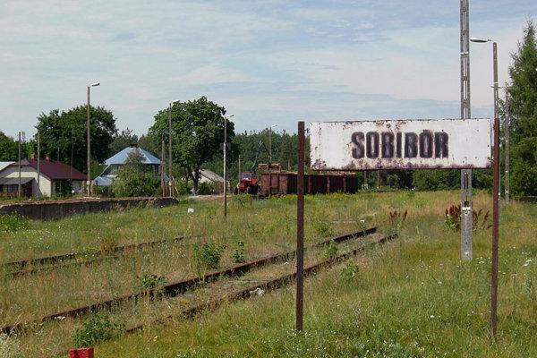 Miesto, kde stál koncentračný tábor Sobibor.