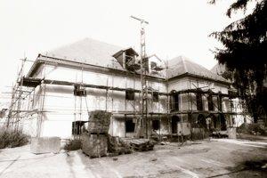 Rekonštrukcia Kapitánskej budovy, 80. roky 20. storočia.