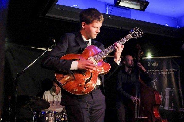 Peter Palaj Trio na tohtoročnej súťažnej prehliadke Nové tváre slovenského jazzu.