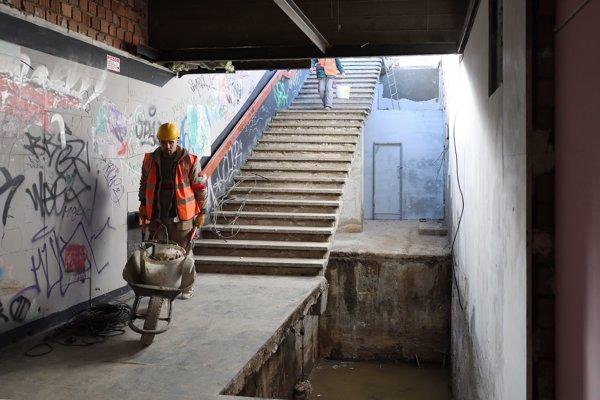 Rekonštrukcia podchodu na Trnavskom mýte.