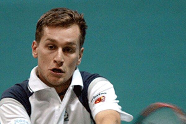 Karol Beck na US Open neuspel už v prvom kole, keď nestačil na argentínskeho tenistu Gonzáleza.