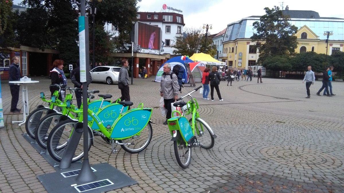 215245f7e52f8 Žilina chce byť svetová. Verejné bicykle budú zadarmo - SME | MY Žilina