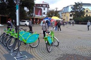 Verejné bicykle by mohli byť v Žiline nainštalované už čoskoro.