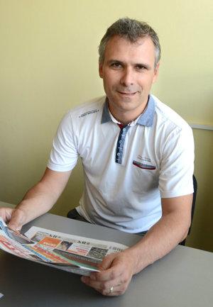 Marián Špacai, vedúci športového oddelenia.