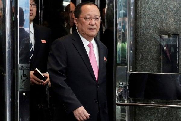 Ri Jong-ho, severokórejský minister zahraničných vecí.