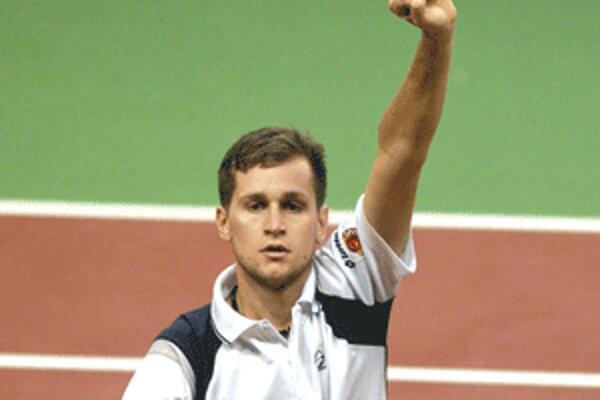 Karolovi Beckovi sa v poslednom období na turnajoch darí, z víťazstva sa tešil dvakrát po sebe.
