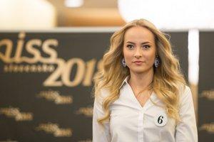 Diana Őlvecká z Banskej Bystrice bude súťažiť s číslom 6.