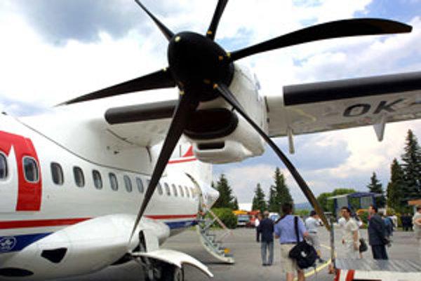 Na trase Sliač - Praha sa lietalo štyri a pol roka.
