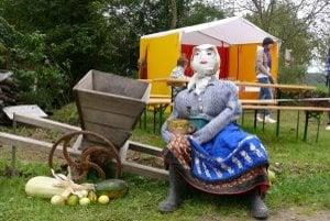Oberačkové slávnosti na Starej hore lákali vlani návštevníkov aj takouto dekoráciou.