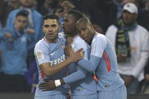 Futbalisti AS Monaco sa tešili z víťazstva. Ilustračná fotografia.