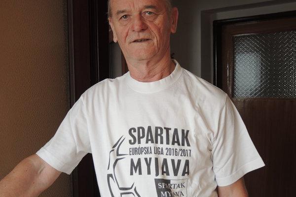 Milan Vrána do dnes chodí na zápasy Spartaka Myjava.