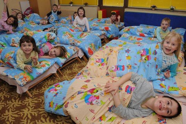 Väčšina materských škôl nebude počas sviatkov fungovať.