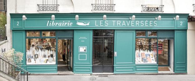 Kníhkupectvo Les Traversées (Paríž, FR) - Archív SME