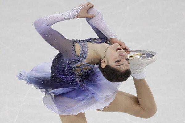 Jekaterina Medvedevová predviedla fantastický výkon.